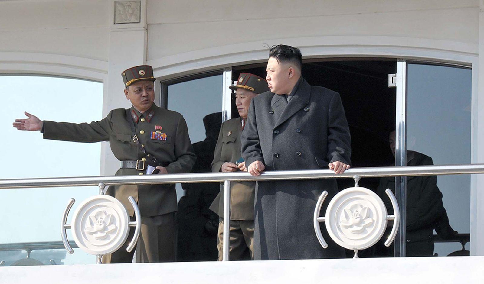 Nordkorea/ Kim/ Boot Taedonggang