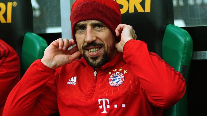 Bundesliga: Ribéry jubelt, Bayern nicht