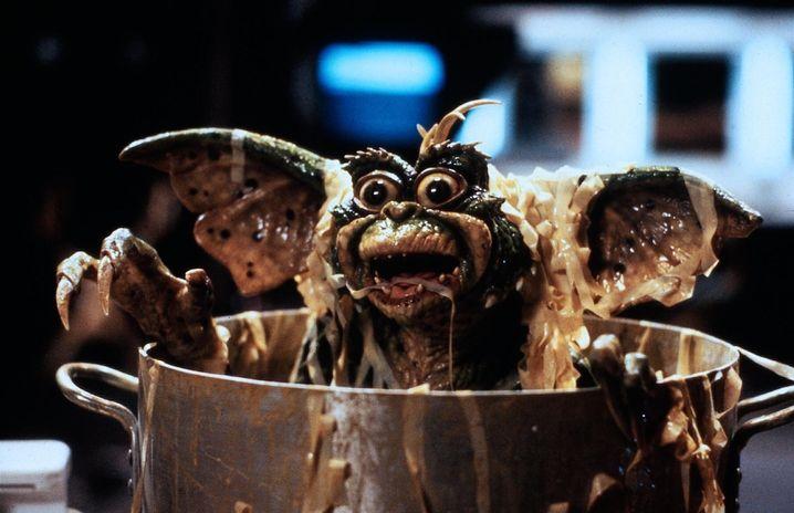"""Zum Gremlin mutierter Mogwai (in """"Gremlins II""""): Niemals nie nach Mitternacht füttern!"""