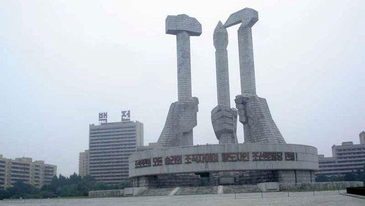 Nordkorea: Strandidylle hinter dem Todesstreifen