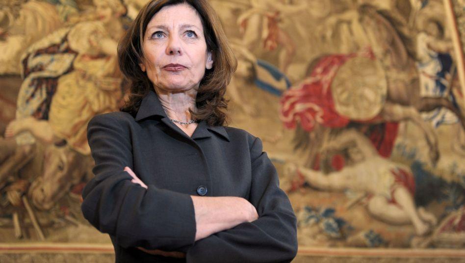 Preisträgerin Ursula Krechel im Frankfurter Römer