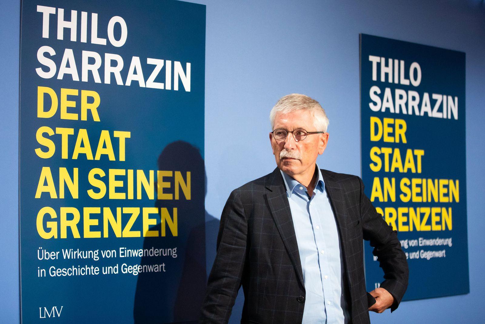 Thilo Sarrazin stellt neues Buch vor