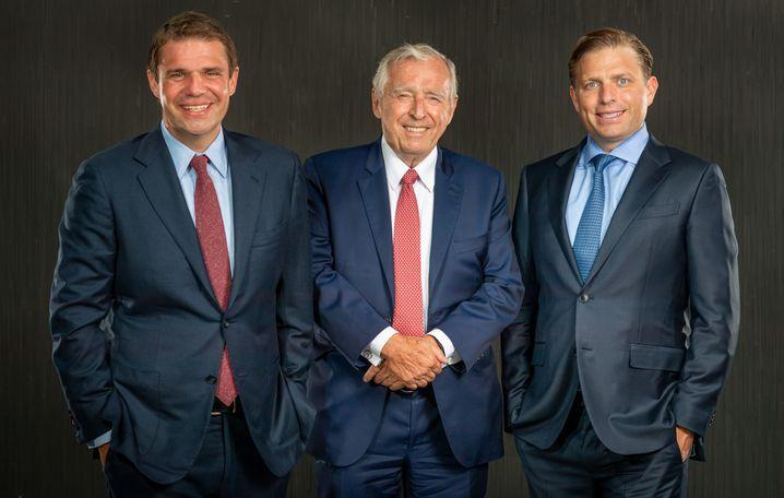 Erich Sixt (M.), Söhne Alexander und Konstantin: »Freude, das Unternehmen wachsen zu sehen«