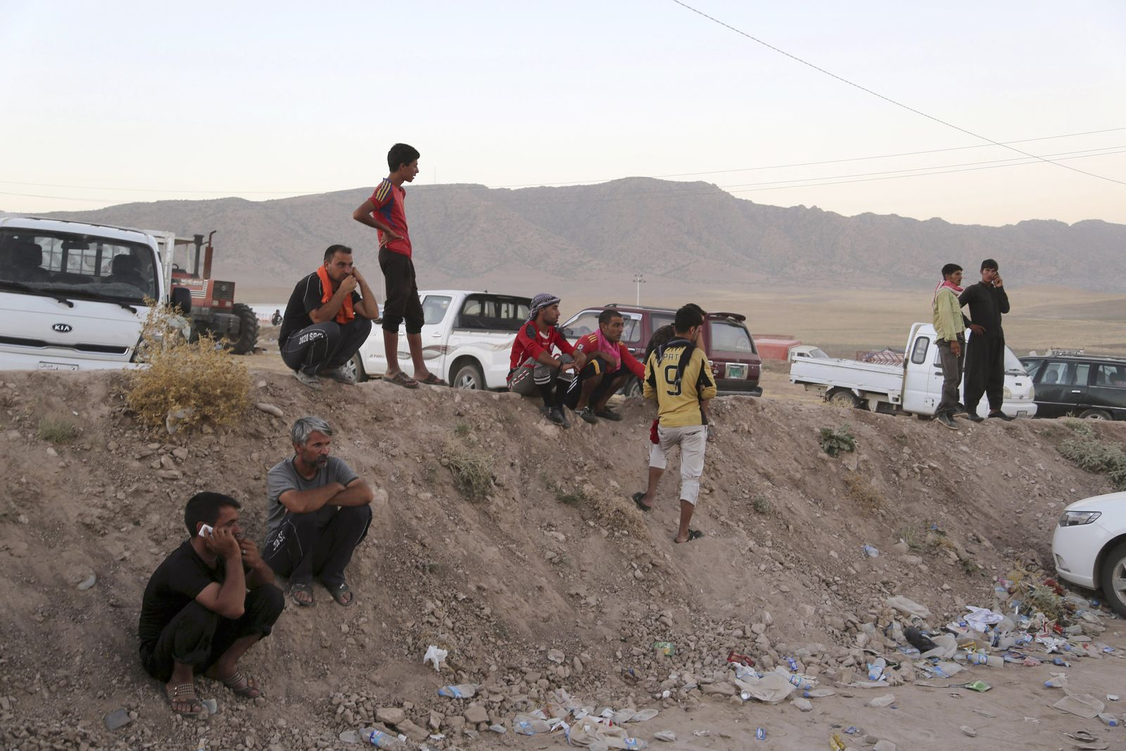 Yazidis Bajid Kandala