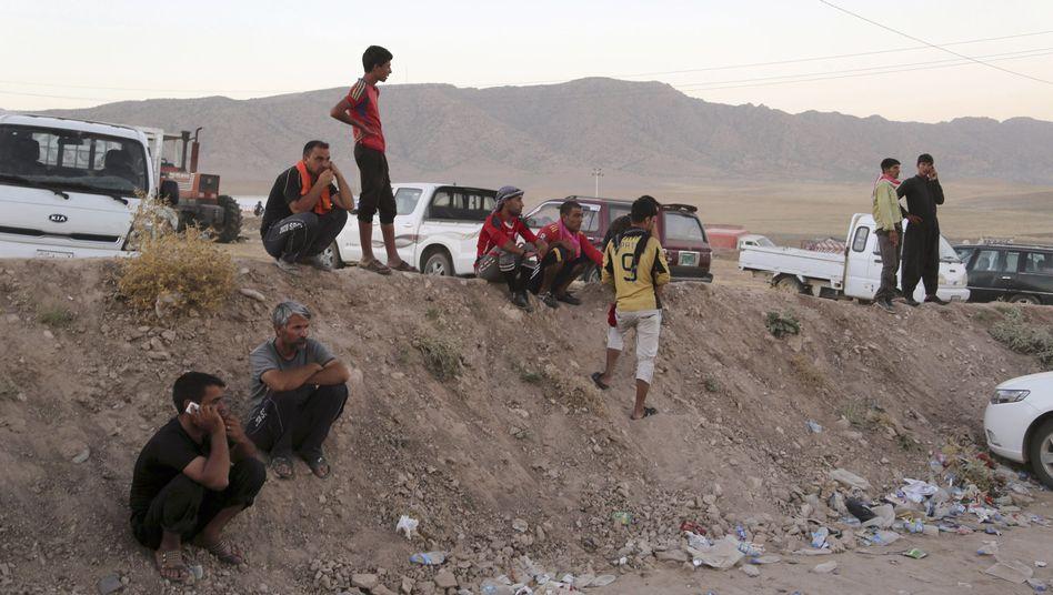 Jesidische Flüchtlinge (Archivbild): Erste Erfolge bei Bemühungen um Rettung