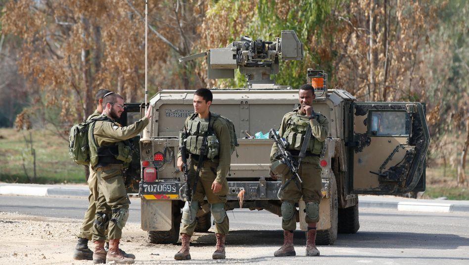 Soldaten des israelischen Militärs (Symbolbild)