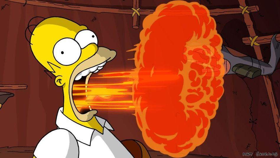 Comic-Held Homer Jay Simpson (im Kinofilm): Desinteresse ist sein dritter Vorname - unqualifiziert und faul schleppt er sich zur Arbeit im Atomkraftwerk Springfield