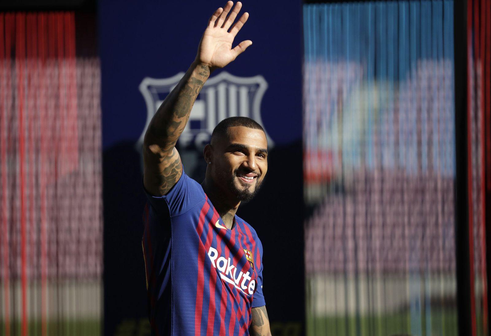 Vorstellung von Boateng beim FC Barcelona