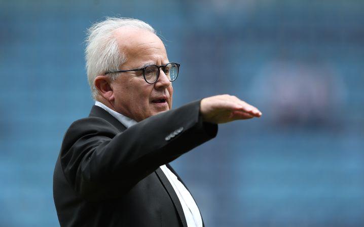 Der frühere SC-Präsident Fritz Keller ist jetzt DFB-Boss