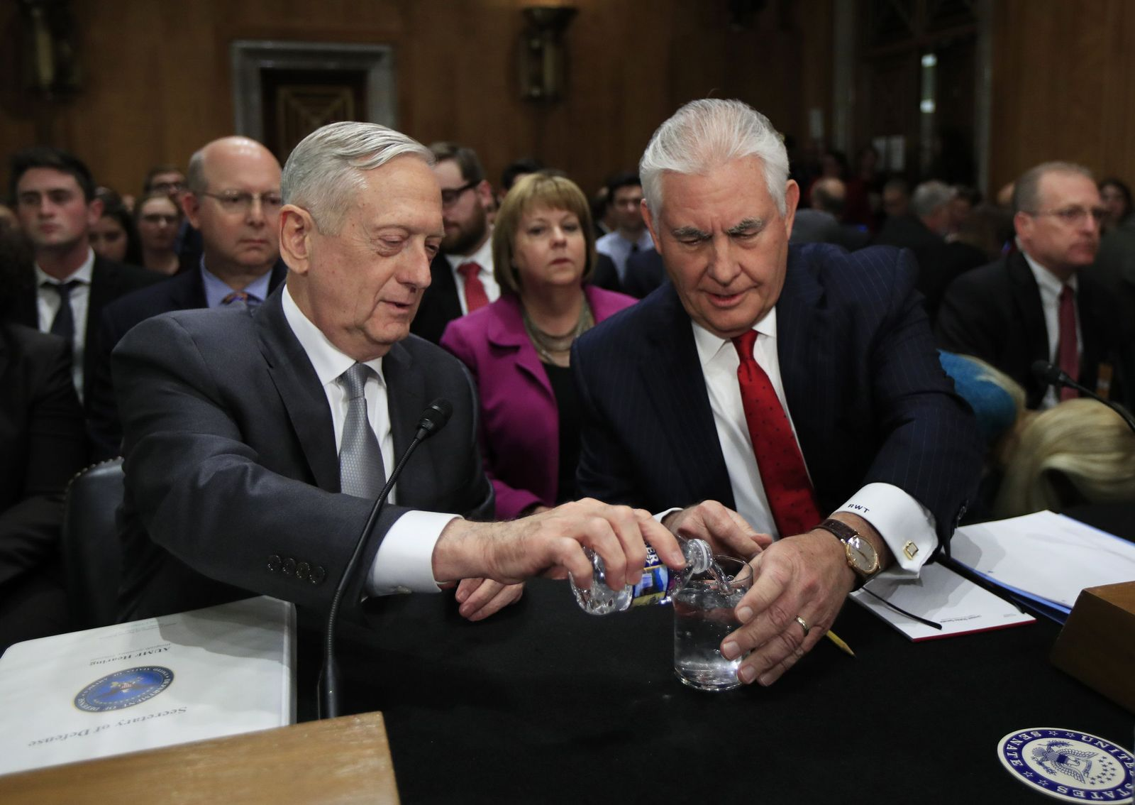 Rex Tillerson und James Mattis