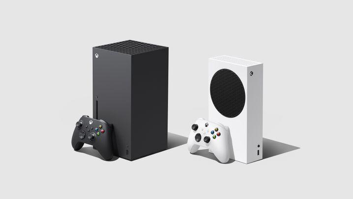 Xbox Series X/S: Schwarz und Weiß