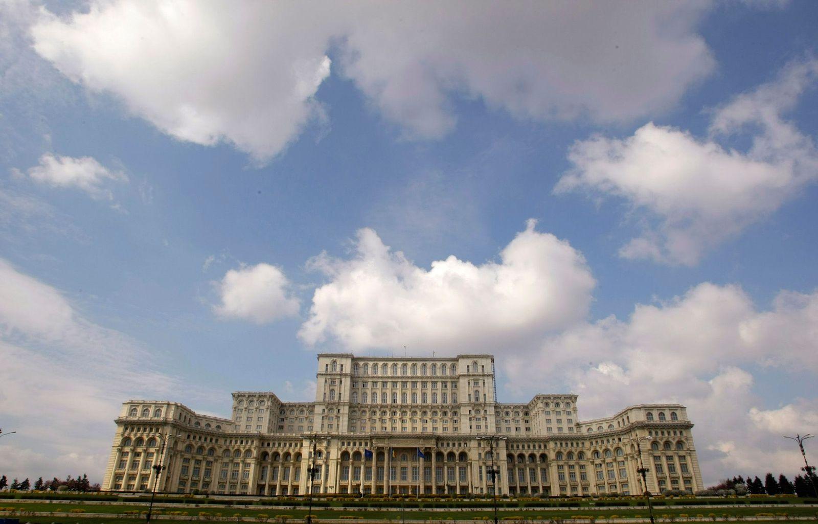 Bukarest / Parlamentspalast