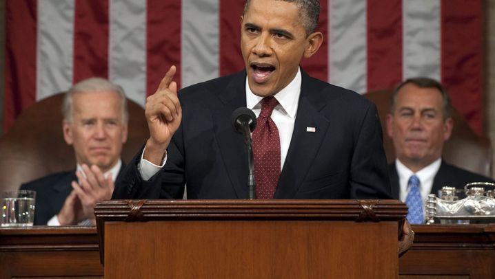 """Rede zur Lage der Nation: """"Amerika ist wieder da"""""""