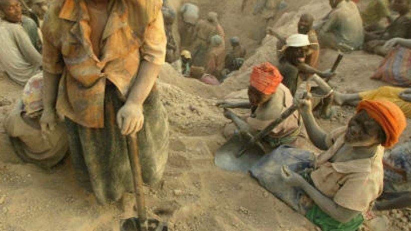Diamantengräber in Simbabwe