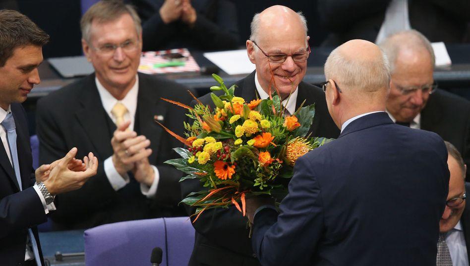 Bundestagspräsident Lammert: 94,6 Prozent für den zweiten Mann im Staat