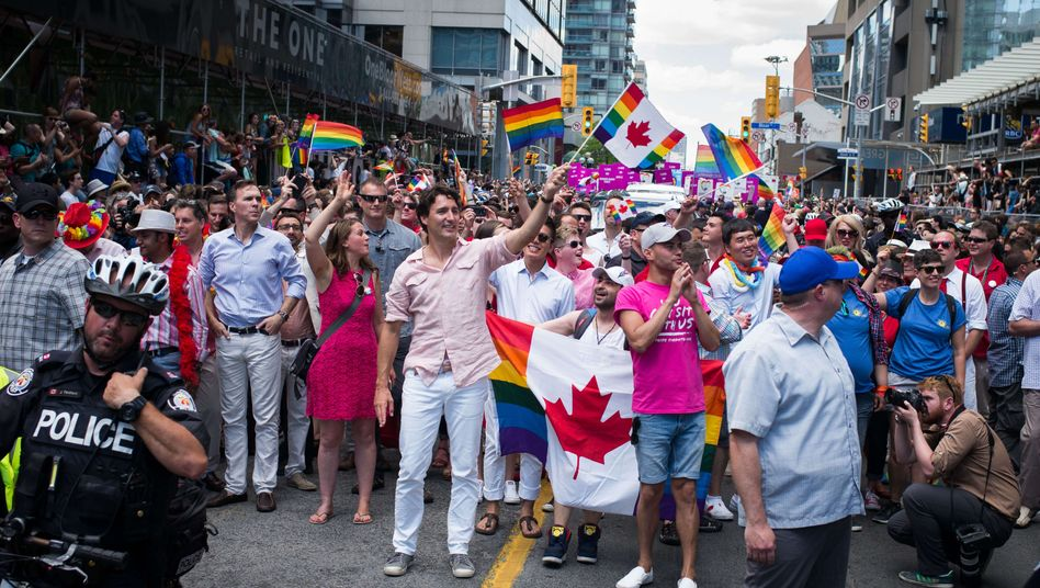 Justin Trudeau, Kanadas Regierungschef