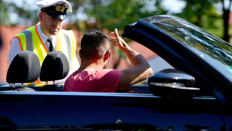 """Ärger bei der Polizeikontrolle: """"Extra noch beim Friseur gewesen, falls es blitzt"""""""