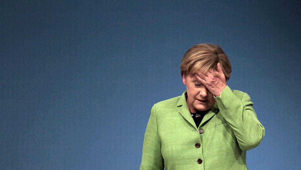 Merkel bei der CDU-Basis: Schelte für die Kanzlerin
