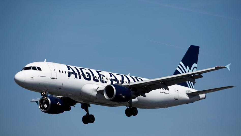 Flugzeug der Airline Aigle Azur (Archivbild)