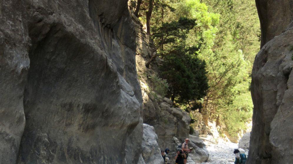 Wandern auf Kreta: Endstation Taverne