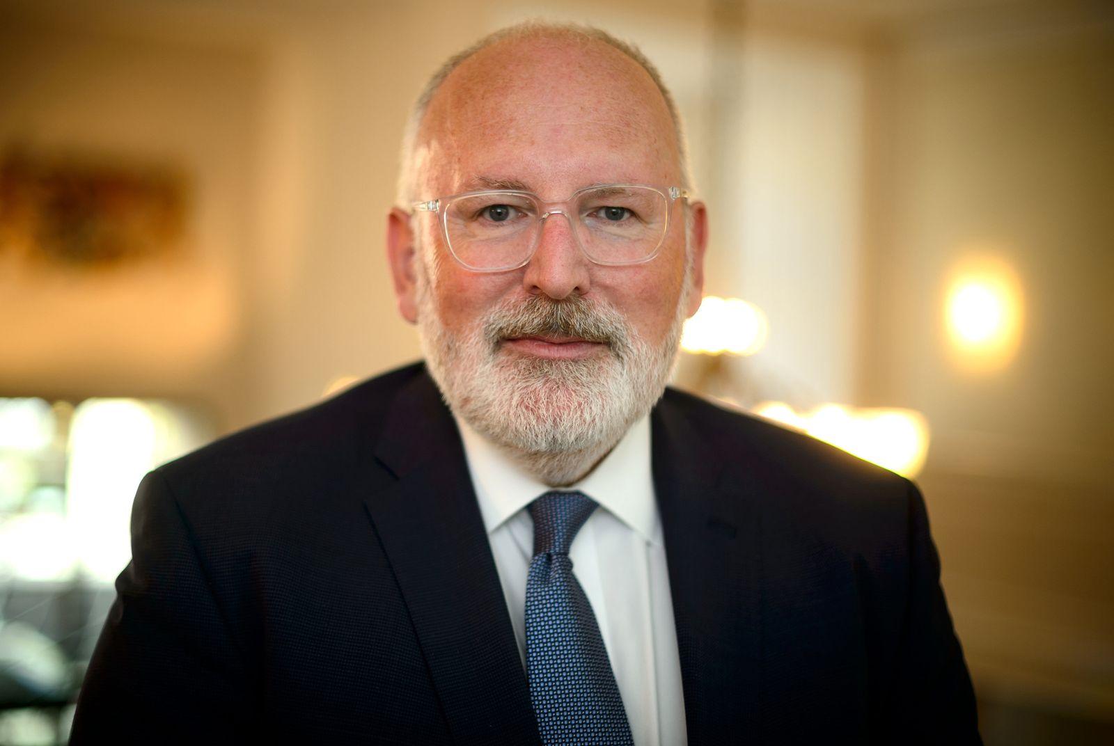 Kandidaten für den EU-Kommissionspräsidenten - Frans Timmermans