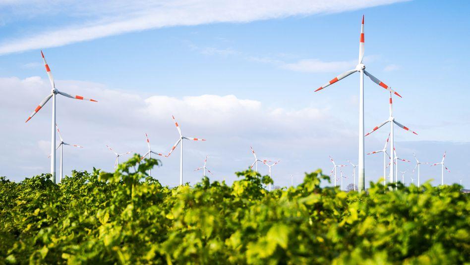 Windräder in Salzgitter