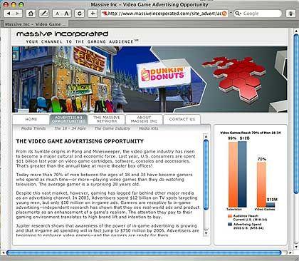"Massive Inc., Doughnut-Werbung: ""Multimilliarden-Dollar-Markt"""