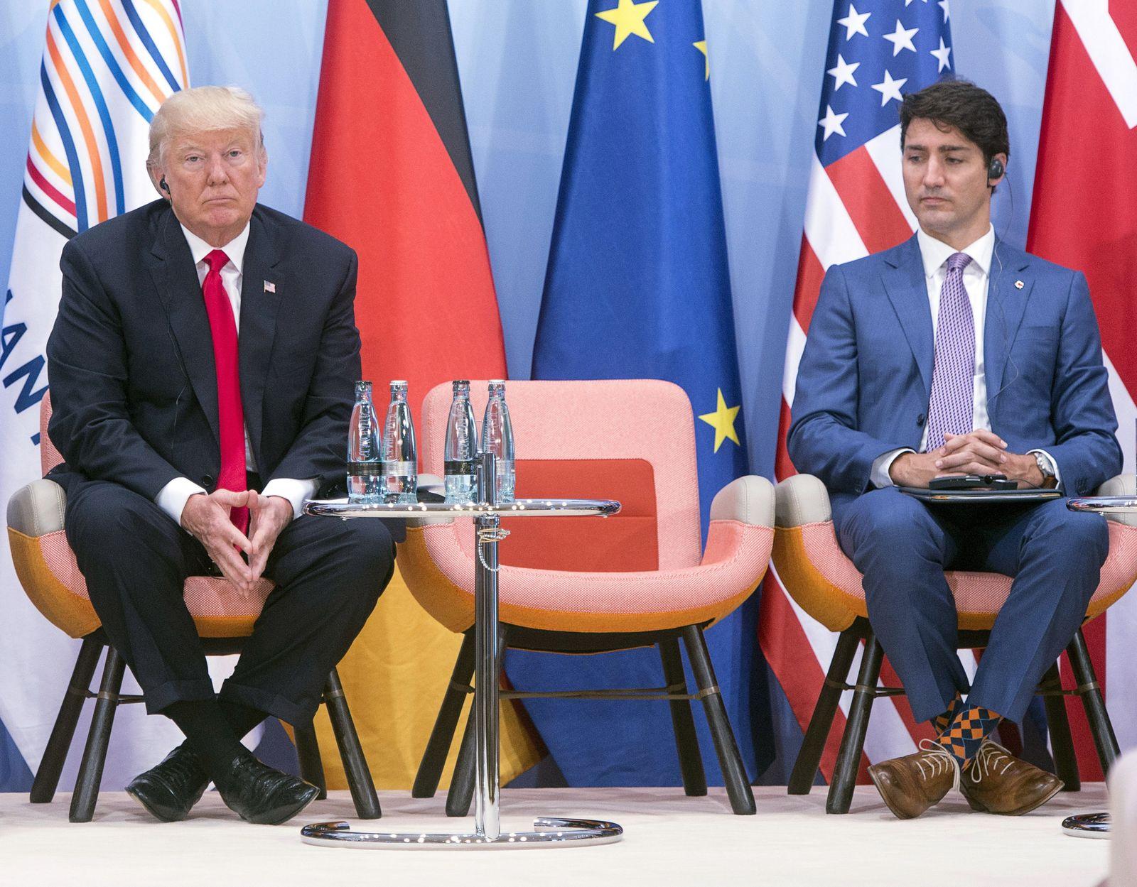 G20 Trump allein