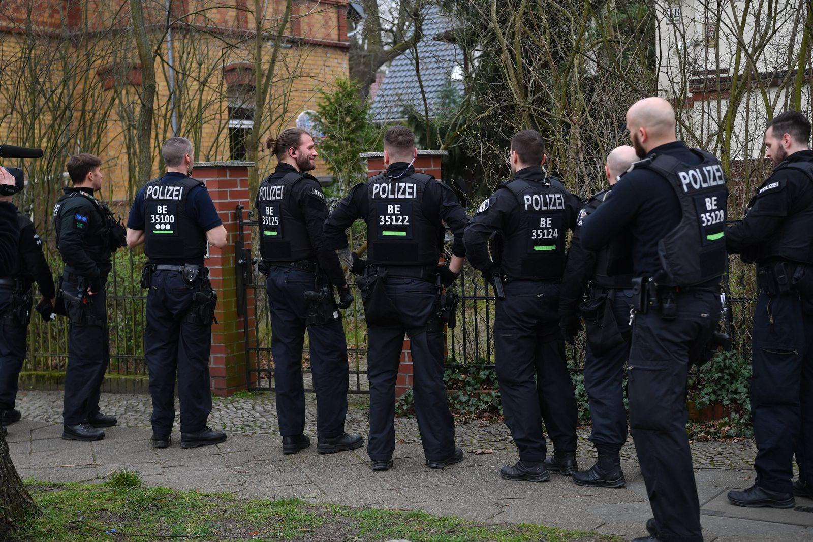 Razzien Reichsbürger-Gruppe - Berlin