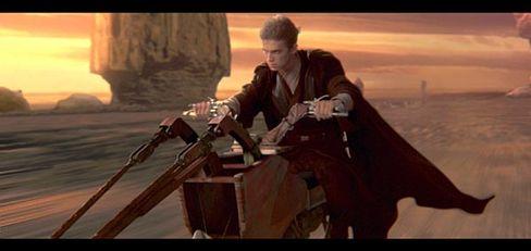 """Anakin als futuristischer """"Easy Rider"""": George Lucas bedient sich bei Kollegen"""