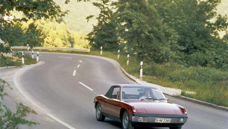 Porsche 914: Der erste Mittelmotor-Seriensportwagen aus deutscher Produktion wurde zwischen 1969 und 1970 knapp 120.000-mal gebaut
