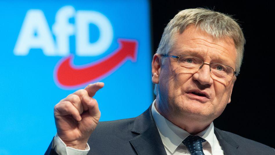 AfD-Co-Parteichef Jörg Meuthen: unter Druck