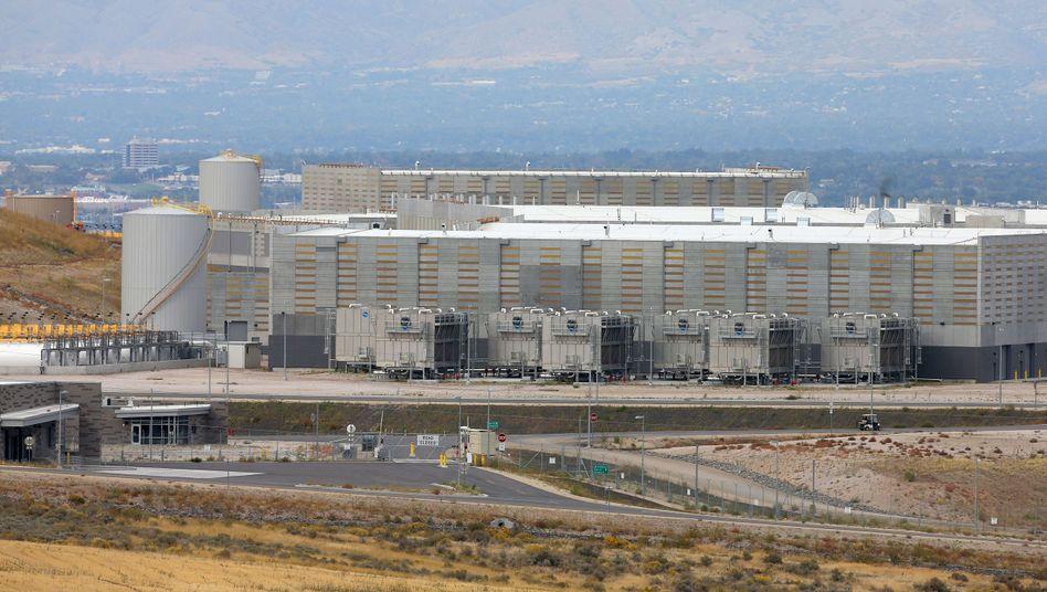 """NSA-Datenzentrum in Bluffdale (Utah): """"Politische Ziele der USA unterstützen"""""""