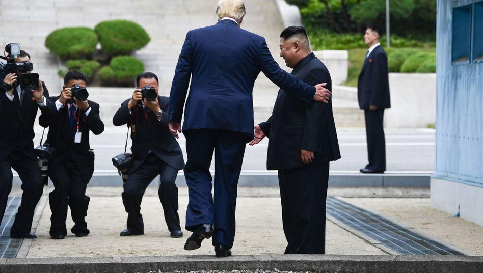 Donald Trump, Kim Jong Un im Juni 2019: Wird es ein erneutes Treffen geben?
