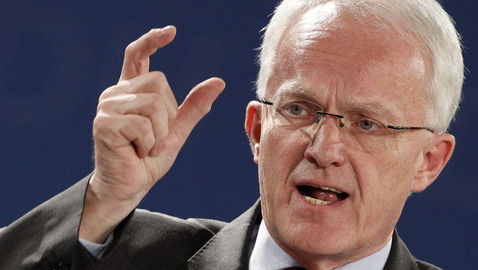 Ministerpräsident Rüttgers: Erstaunlich kleinlaut
