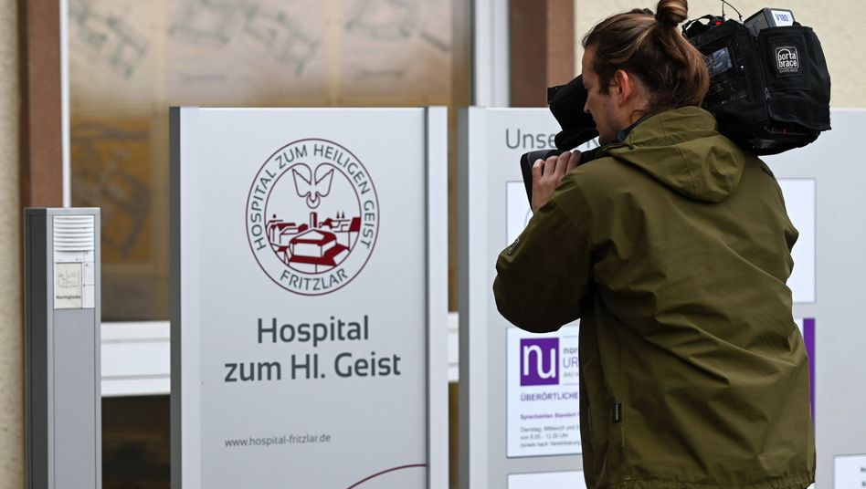 Haupteingang zur Klinik Hospital zum Heiligen Geist: Unter anderem hier arbeitete die falsche Ärztin