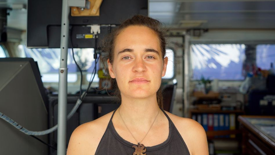 """Carola Rackete, 31, Kapitänin der """"Sea-Watch 3"""""""