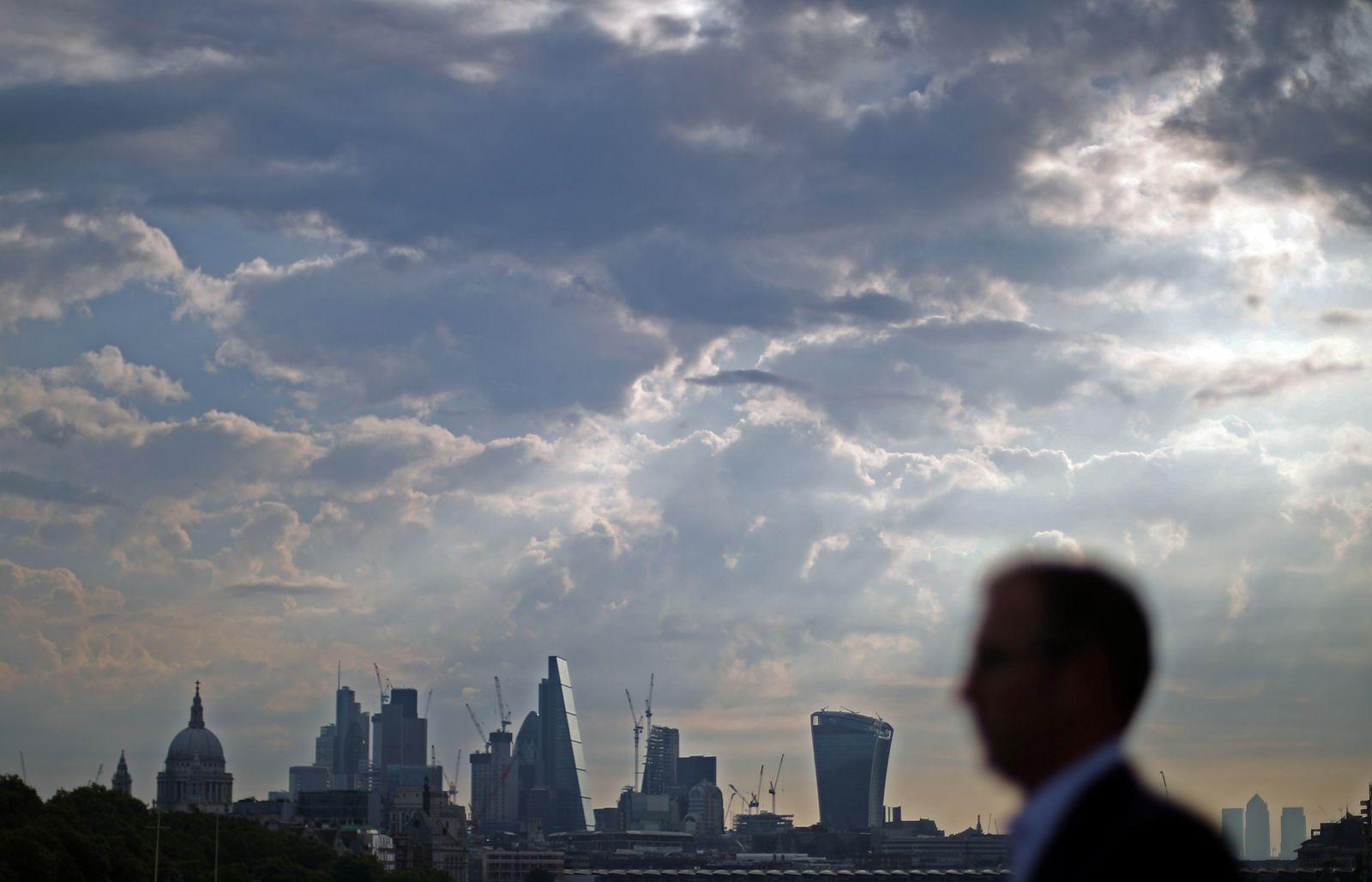 Konjunktur London The City