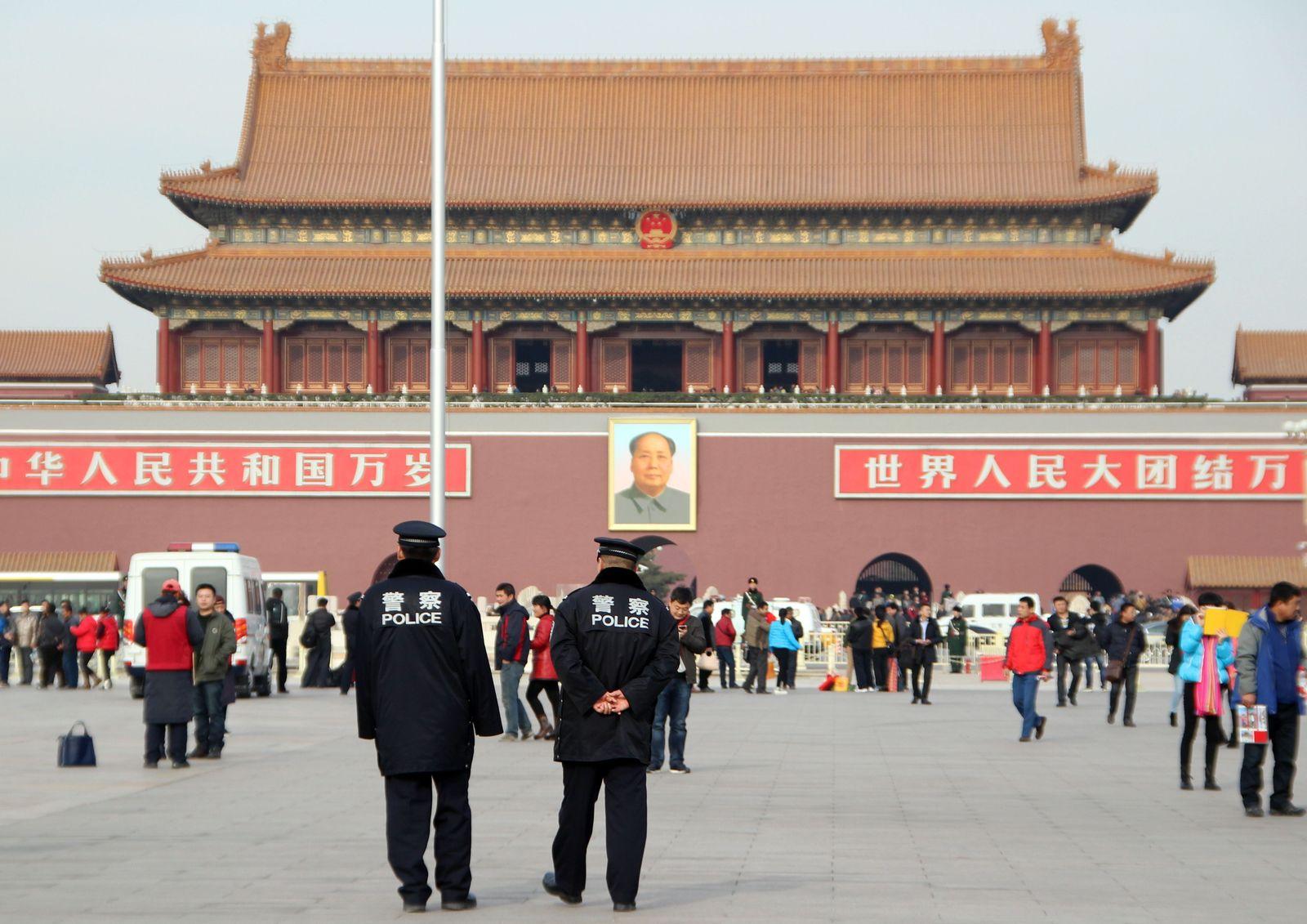 China / Polizei / Staat / peking