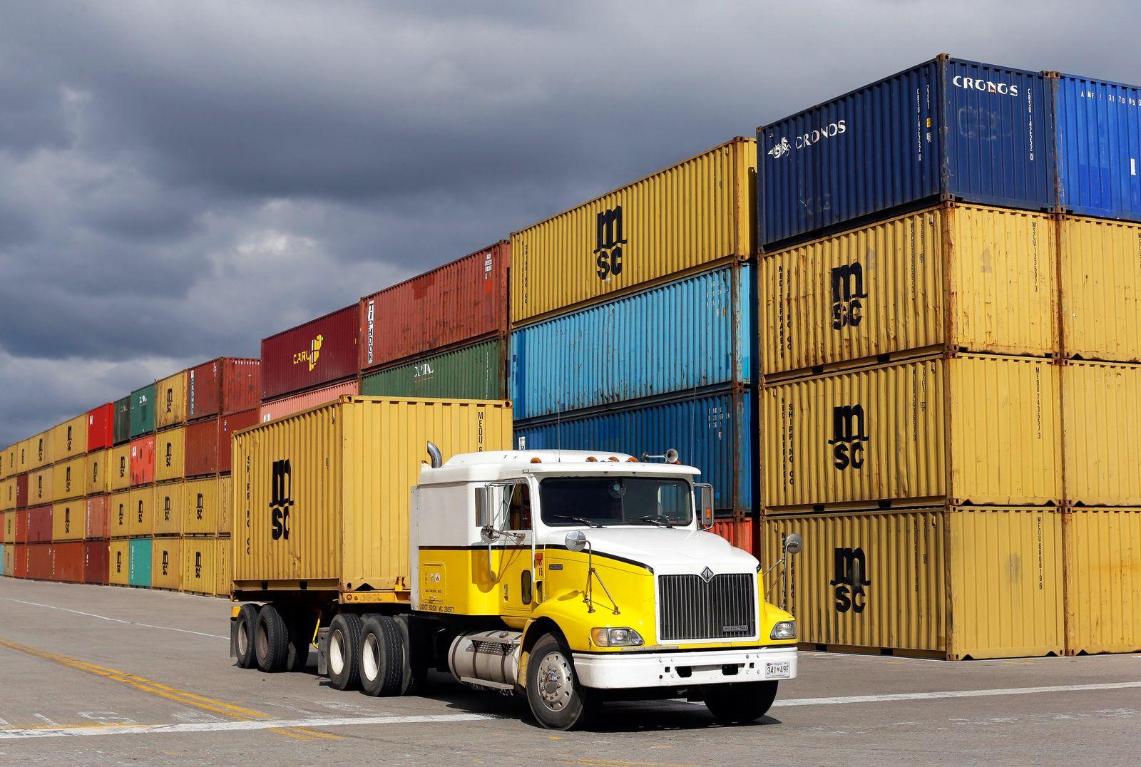 USA / Container / Handel / Konjunktur / Export