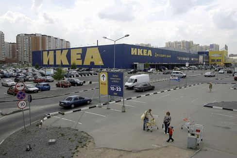 Since 200, Ikea has opened 11 of its huge stores in Russia, including this outpost in northwest Moscow.