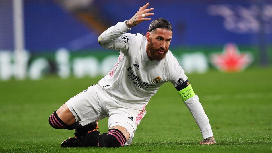 Sergio Ramos – war es das mit seiner Champions-League-Zeit bei Real?