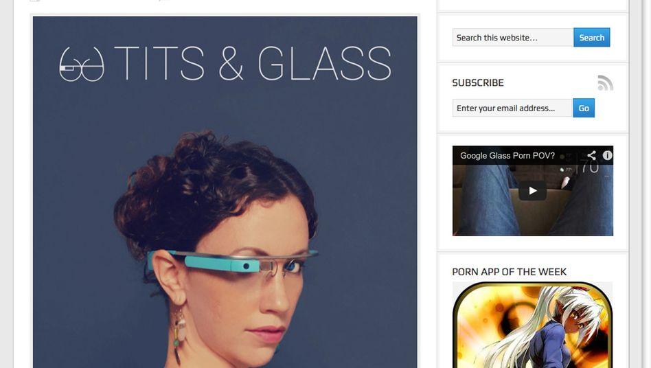 Google-Glass-Porno-App: Nach wenigen Stunden verschwunden