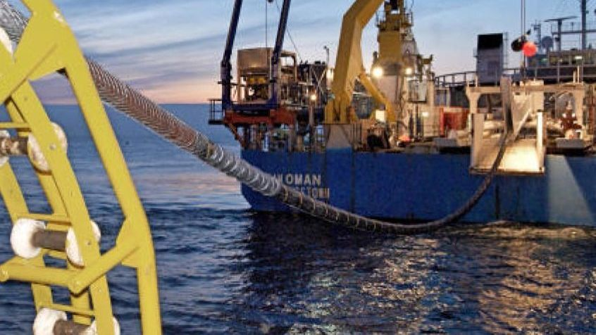 Netzanbindung in der Nordsee