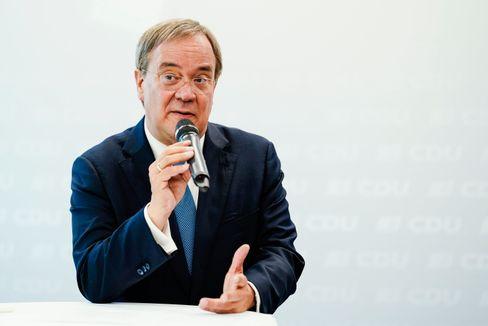 Armin Laschet: Wenn er nicht über schlechte Umfragen redet, gehen sie vielleicht wieder weg
