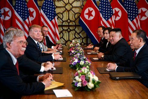 Donald Trump, Kim Jong Un 2019 in Hanoi