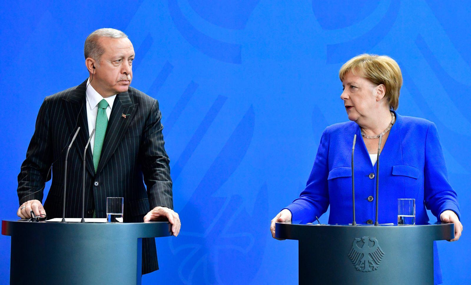 Erdogan/ Merkel
