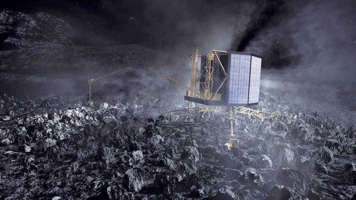 """Komet Tschuri: Die Mission von """"Philae"""""""