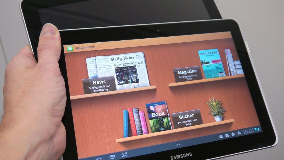 Neustart gegen Apple: Samsung Galaxy Tab 10.1N