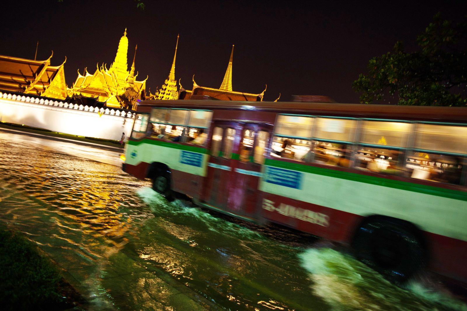 Thailand / Bangkok / Hochwasser